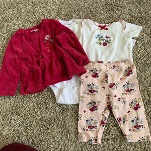 Laura Ashley 6-9 month baby girl bundle